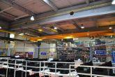Jeřáb s nízkou stavební výškou Adamec Crane Systems pro Denso Manufacturing Liberec