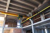 Mostový jeřáb Adamec Crane Systems pro SVOS, Přelouč