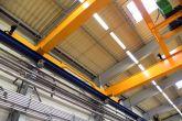 Speciální jeřáb s odlehčenými krabicovými nosníky mostu Adamec Crane Systems pro Eugen Wexler