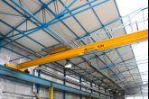 Jeřáby ve firmě působící v potravinářském průmyslu Adamec Crane Systems pro Niob, Hluk