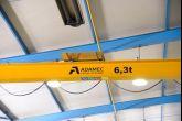 Jeřáb ACS 3,2t Adamec Crane Systems pro Niob, Hluk