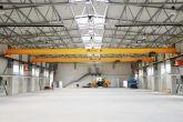 Jeřáby s dráhami vyrobené Adamec Crane Systems pro Edscha, Jindřichův Hradec