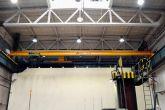 Druhý jeřáb vyrobený Adamec Crane Systems pro Kovofiniš, Ledeč nad Sázavou
