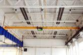 První jeřáb vyrobený Adamec Crane Systems pro Kovofiniš, Ledeč nad Sázavou