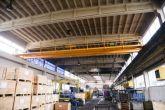 Výroba a instalace jeřábu pro předního výrobce řetězů Adamec Crane Systems pro Řetězy, Vamberk