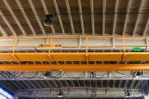 Dvounosníkový jeřáb ACS s lávkou Adamec Crane Systems pro Řetězy, Vamberk
