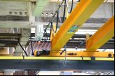 Dvounosníkový jeřáb s jeřábovou drahou 24m a sloupy Adamec Crane Systems pro TRW, Jablonec nad Nisou