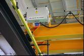 Dvounosníkový jeřáb Adamec Crane Systems pro TRW, Jablonec nad Nisou