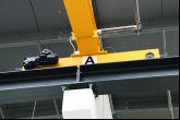 Jeřáby manipulující v oblasti přesného opracování povrchů Adamec Crane Systems pro Mepac, Třinec