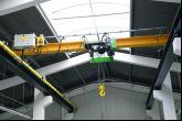 Jeřáb ACS 5t/5,5 m s dráhou 34 m Adamec Crane Systems pro Mepac, Třinec