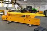 Dvounosníkový mostový jeřáb ACS 35t/8,9 m Adamec Crane Systems pro Hydropol, Liberie