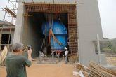 Vysokotonážní jeřáb Adamec Crane Systems pro Hydropol, Liberie