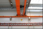Jeřáb ACS 10t/16,8 m Adamec Crane Systems pro KAJIMA/MSSL ADVANCED POLYMERS