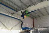 Instalace jeřábu ACS Adamec Crane Systems pro TGS, Mýto u Rokycan