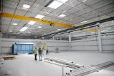 Jeřáb ACS 10t/22,85 m Adamec Crane Systems pro DEMOAUTOPLAST, Jirny