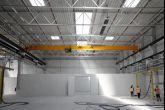 Přídavná konstrukce pro zavěšení technologie Adamec Crane Systems pro DEMOAUTOPLAST, Jirny