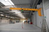 Konzolový jeřáb Adamec Crane Systems pro Denios, Strakonice