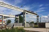 Mostový jeřáb ACS 12,5t/18 Adamec Crane Systems pro H.A.N.S. Prefa, a.s, Lysá nad Labem