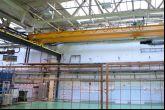 Jednonosníkový mostový jeřáb Adamec Crane Systems pro TRW Automotive Czech