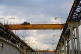 Dvounosníkový jeřáb Adamec Crane Systems pro Prefa