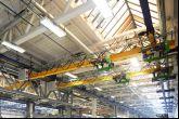 Mostový jeřáb  Adamec Crane Systems pro IVECO Vysoké Mýto