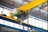 Podvěsný jeřáb  Adamec Crane Systems pro IVECO Vysoké Mýto