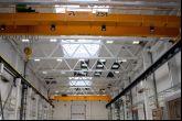 Mostový jeřáb ACS 25t/16,5m  Adamec Crane Systems pro KBA-Grafitec, Dobruška