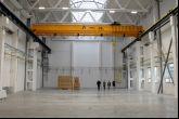Mostový jeřáb Adamec Crane Systems pro KBA-Grafitec, Dobruška